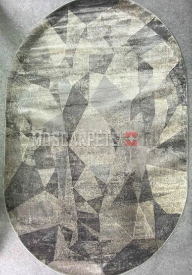 Ковер Asiris 9159а L.GREY овал