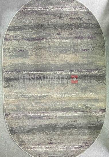 Ковер Asiris 9161а L.GREY овал