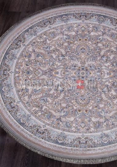 Ковер FARSI 1200-G256 LIGHT GRAY круг