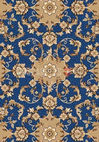 Палас Аида 508 синий