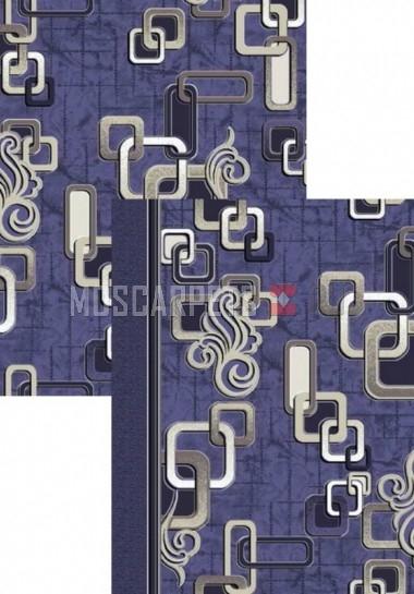 Палас Звенья 1594c5/101 сине-серый