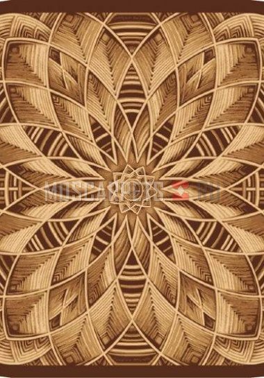 Палас Ротанг (карпет) 1723 бежево-коричневый
