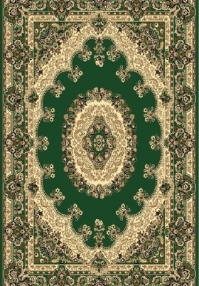 Ковер Триумф - Y105N_80 зеленый