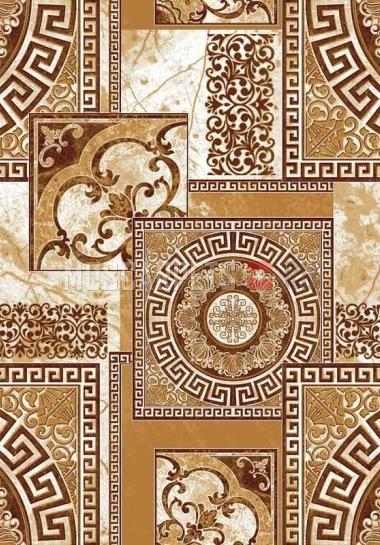 Палас Афины 1559a1/43 бежево-коричневый