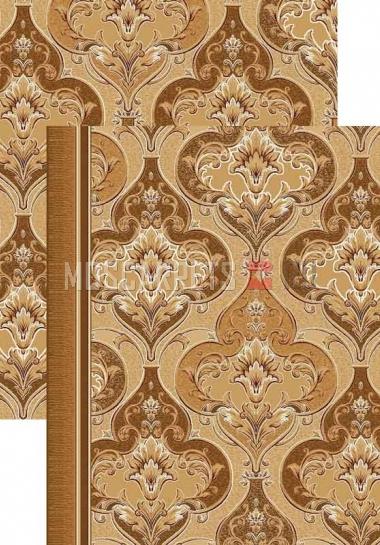 Палас Ампир 1303a2/43 бежево-коричневый