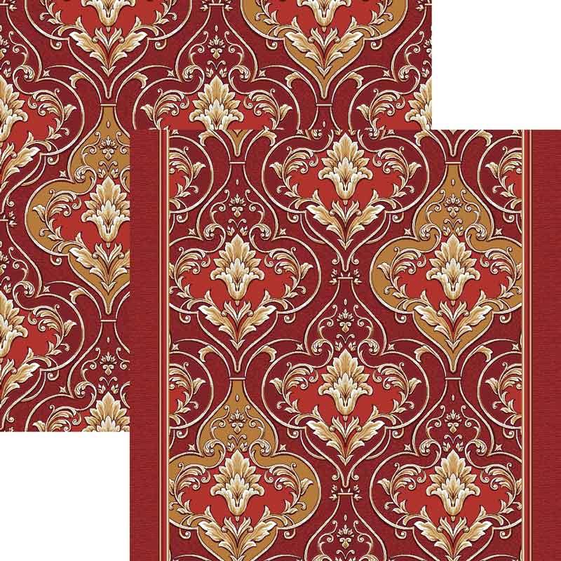 Палас Ампир 1303a4/45 красный