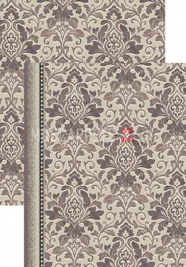 Палас Милан 1560c2/100 серо-белый
