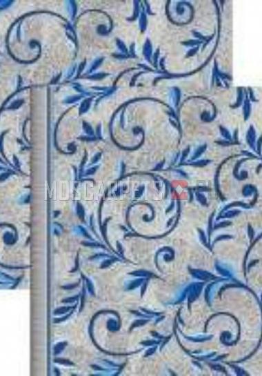 Палас Вензель 1161/47 серо-голубой