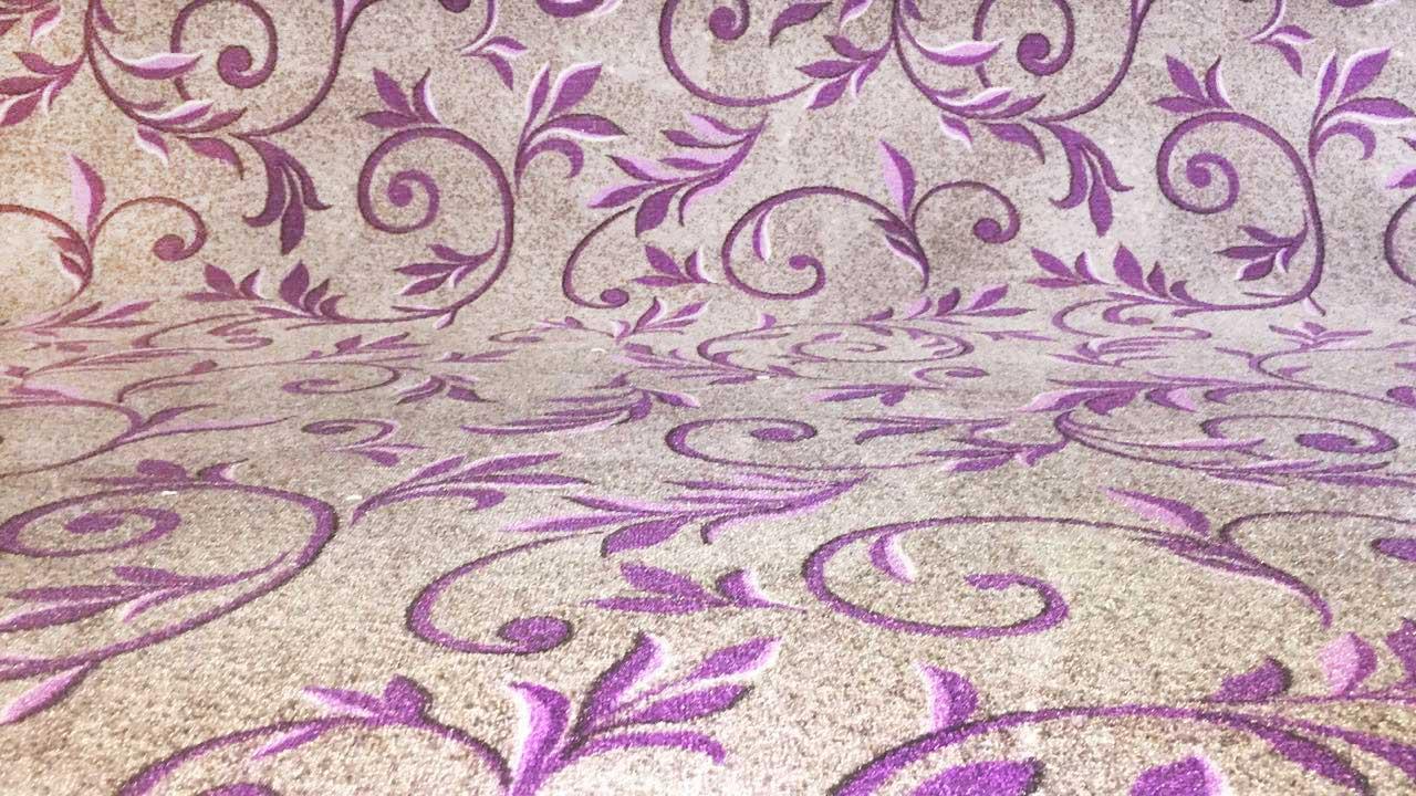 Палас Вензель 1161/50 серо-фиолетовый