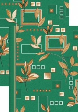 Палас Ветви 1166с5/36 зеленый