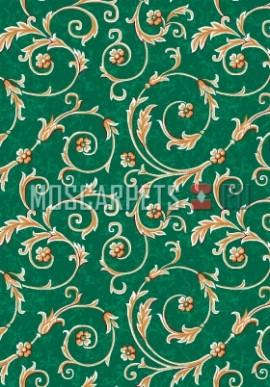 Палас Рококо 1243/36 зеленый
