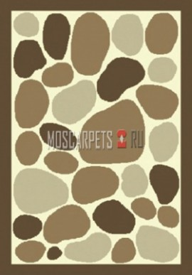 Ковер Шагги Колорадо 1543-65 кремово-коричневый