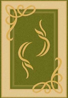Ковер Paradise ЗY704 зеленый