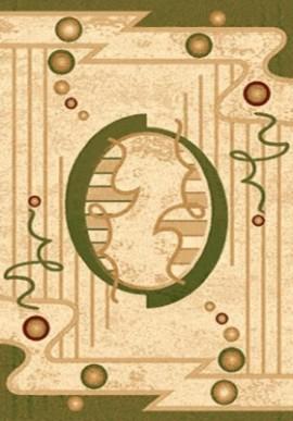 Ковер Валенсия D002 зеленый