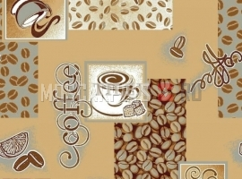 Палас Кофе 1506а2/34 бежево-серый