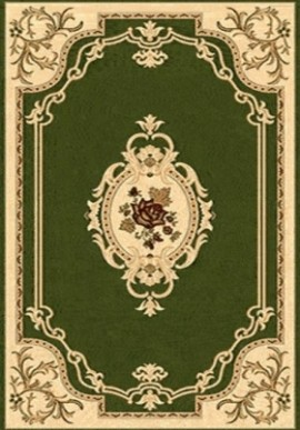 Ковер Валенсия D006 зеленый