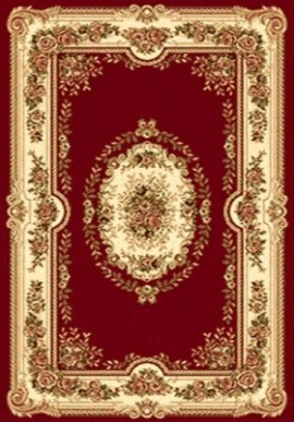 Ковер Валенсия D007 красный