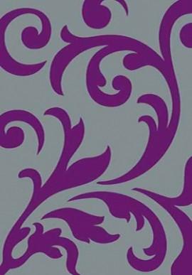 Ковер Вижн Делюкс D129 серо-фиолетовый