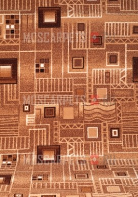 Палас Плата 1035/43 бежево-коричневый