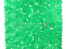 Коврик SPA-коврик SHAHINTEX камушки с ракушками зеленый