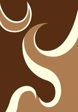 Ковер Вижн Делюкс V116 коричневый