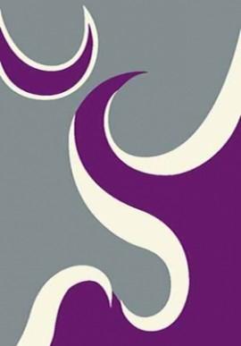 Ковер Вижн Делюкс V116 серо-фиолетовый