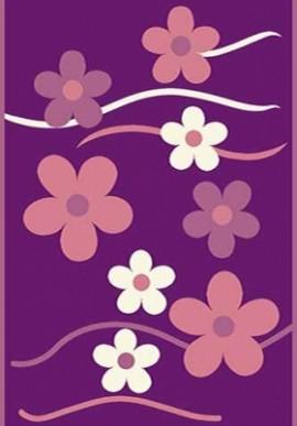 Ковер Вижн Делюкс V117 фиолетовый
