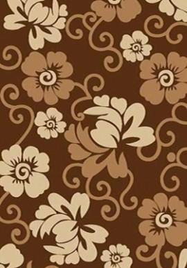 Ковер Вижн Делюкс V142 коричневый