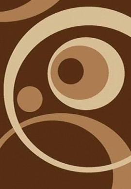 Ковер Вижн Делюкс V151 коричневый