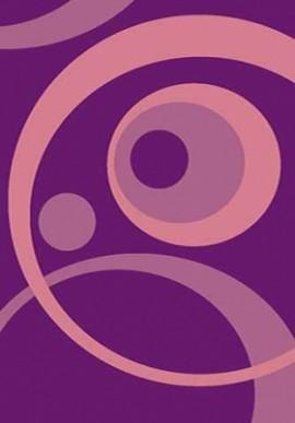 Ковер Вижн Делюкс V151 фиолетовый