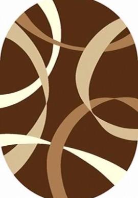 Ковер Вижн Делюкс V801 коричневый