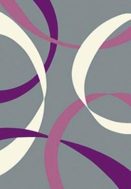 Ковер Вижн Делюкс V801 серо-фиолетовый
