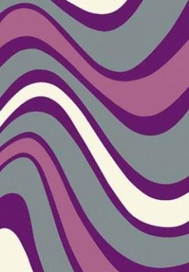 Ковер Вижн Делюкс V802 серо-фиолетовый