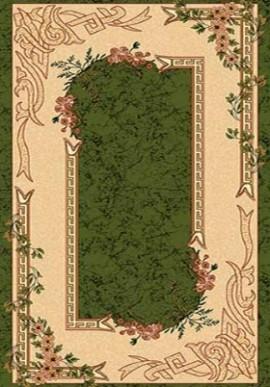 Ковер Валенсия D005 зеленый