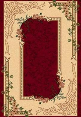 Ковер Валенсия D005 красный