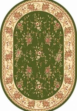 Ковер Валенсия 5455 зеленый