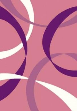 Ковер Вижн Делюкс V801 розовый