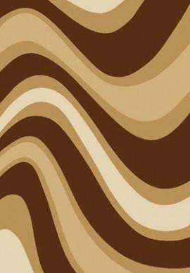 Ковер Вижн Делюкс V802 коричневый