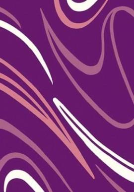Ковер Вижн Делюкс V804 фиолетовый