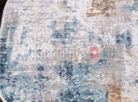 Ковер ALLURES 12004 CREAM-BLUE овал