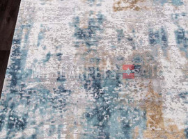 Ковер ALLURES 12004 CREAM-BLUE прямоугольник