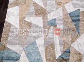 Ковер ALLURES 12009 CREAM-BLUE прямоугольник