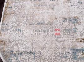 Ковер ALLURES 12025 CREAM-BLUE овал
