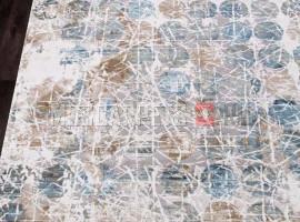 Ковер ALLURES 12026 CREAM-BLUE прямоугольник