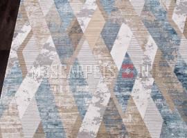 Ковер ALLURES 12027 CREAM-BLUE прямоугольник