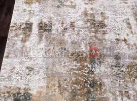 Ковер ALLURES 12041 CREAM-GREEN прямоугольник