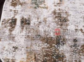 Ковер ALLURES 12104 CREAM-GREEN овал