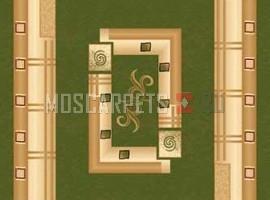 Ковер Da Vinci 5263 GREEN прямоугольник