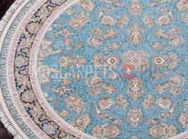 Ковер FARSI 1500-G136 BLUE круг
