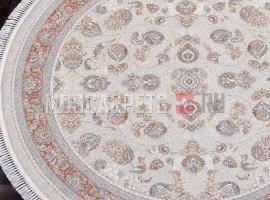 Ковер FARSI 1500-G136 CREAM круг